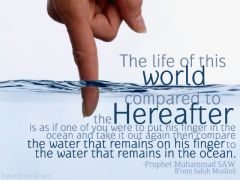 one of my favourite hadiths