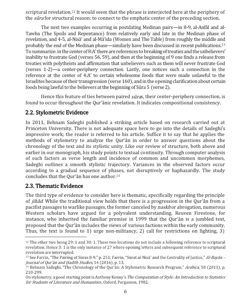 Composition Quran RF 5