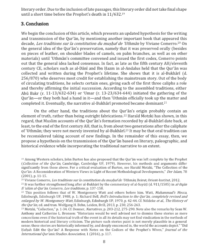 Composition Quran RF 7